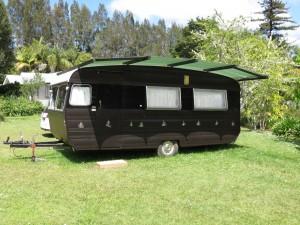 Silver Ferns Caravan