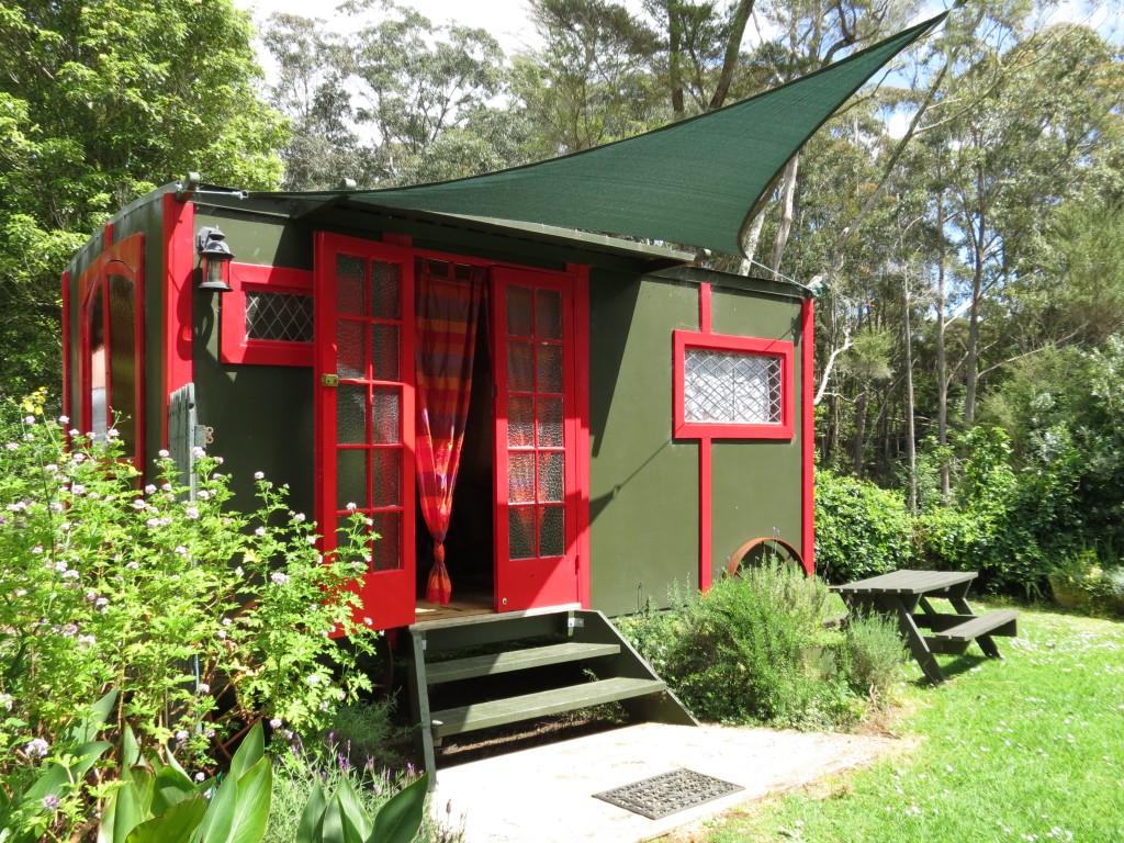 Gypsy Caravan at Pagoda Lodge