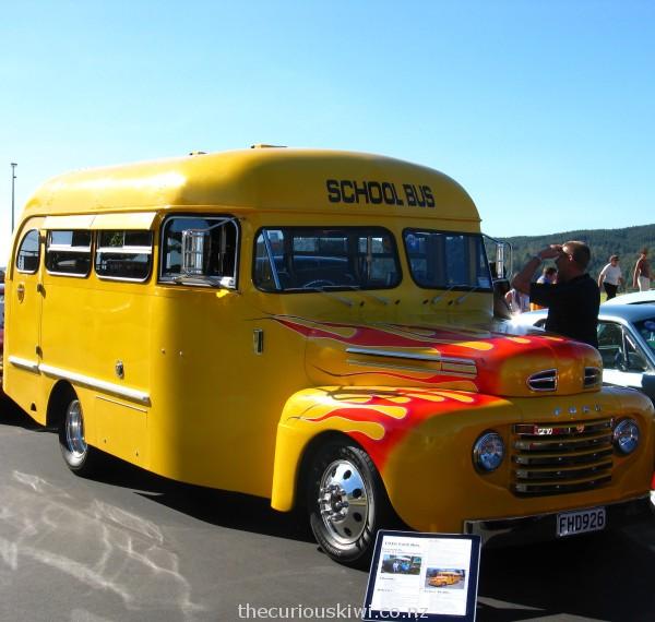 Groovy 1948 Ford School Bus