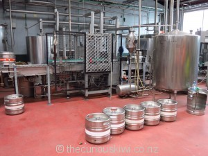 The brewery - what goes in
