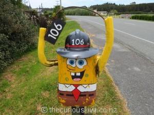 SpongeBob in Hokitika