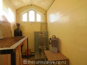 Re-created prison cell