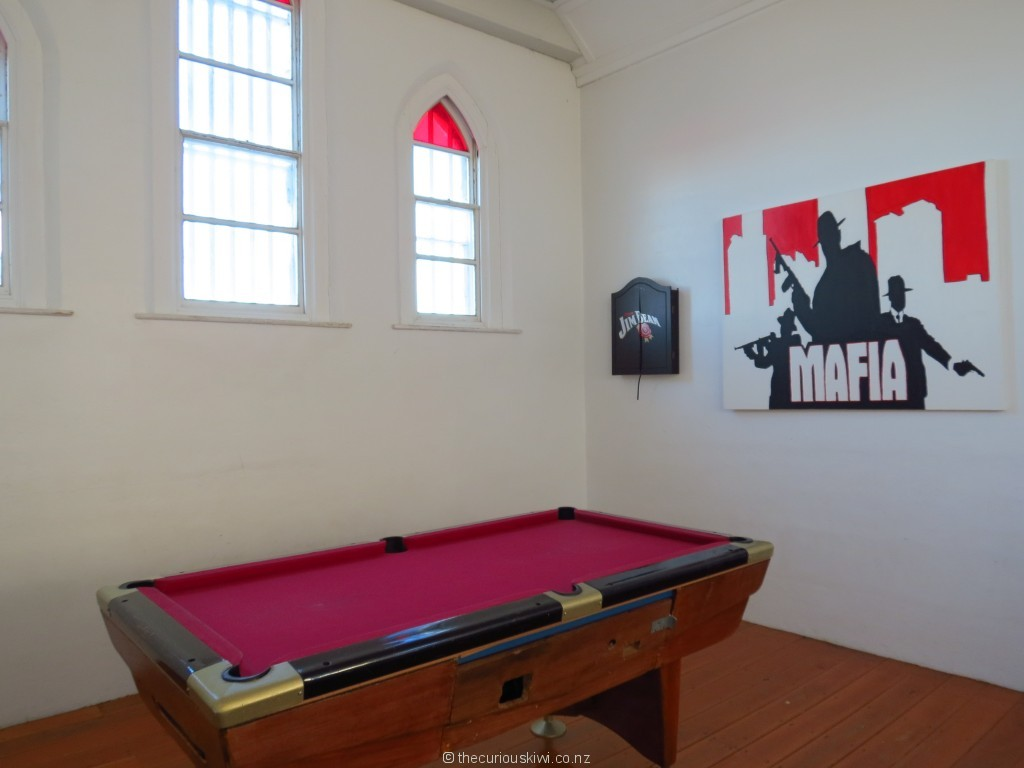 Pool room at Jailhouse Accommodation