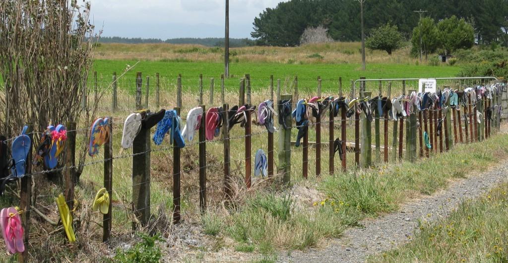 Jandal fence