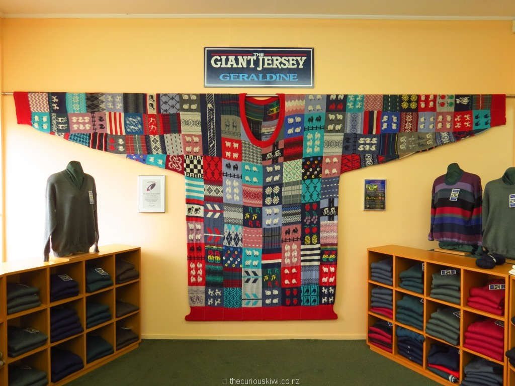 The Giant Jersey in Geraldine