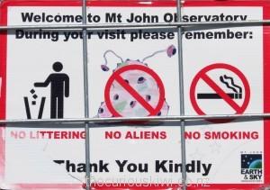 No aliens allowed