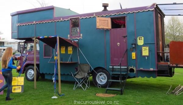 House truck tarot readings at Rotorua Gypsy Fair