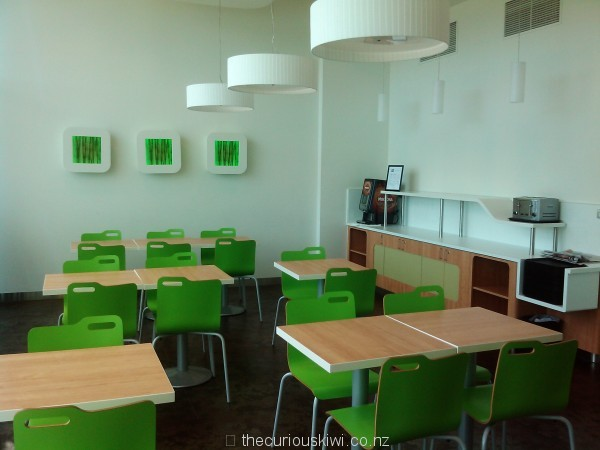 Breakfast area at ibis budget hotel