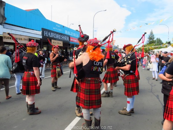 The renegade Highland Pipe Band