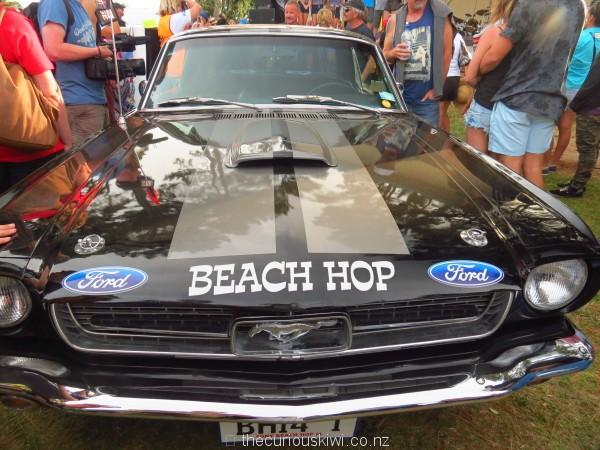 1966 Ford Mustang won at Beach Hop 2014
