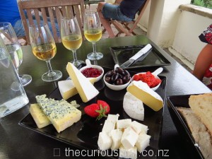 Platter at Wrights Vineyard & Winery