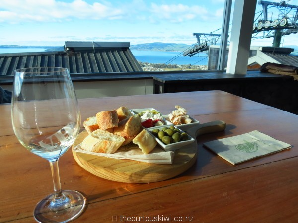 Rotorua - Volcanic Hills, you'll find the Tasting Room at the top of Skyline Rotorua