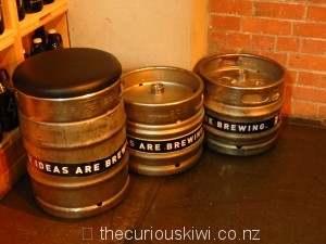 Ideas are brewing - beer keg seat