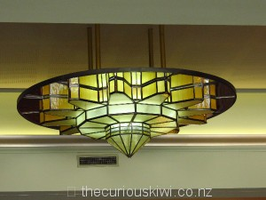 Art deco replica sunburst chandelier