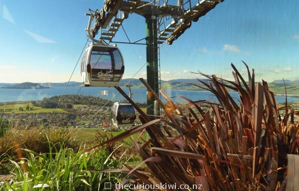 Gondolas at Skyline Rotorua