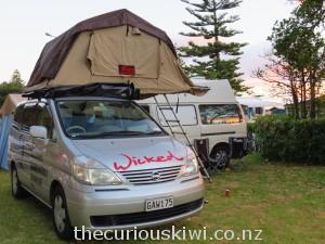 Camping at Waikanae Beach Holiday Park