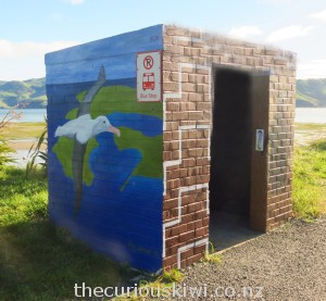 The albatross - it's been said that each pair add $2million annually to Dunedin's economy