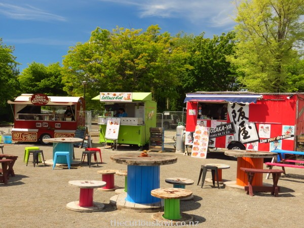 Food caravans at The Commons