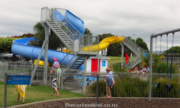 Water slides at Ohope Beach TOP 10