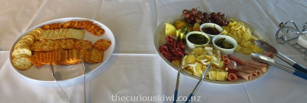 Crackers and platter to share