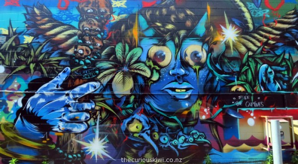 Art work by Berst