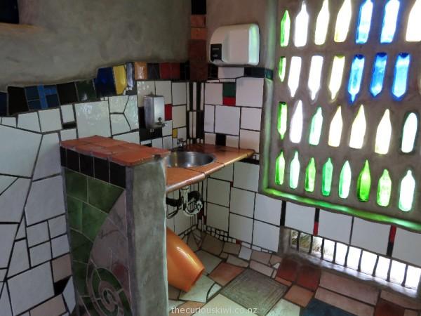 Interior of Kawakawa Public Toilets