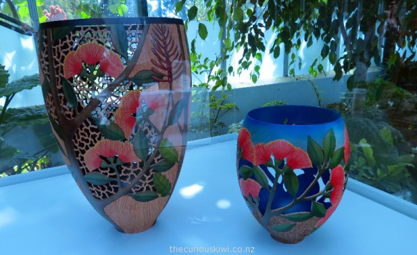Pohutukawa Flowers by Graeme McIntyre