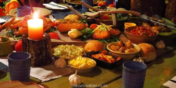 The feast - Evening Banquet Tour at Hobbiton