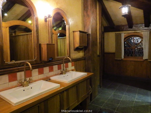Toilets at The Green Dragon Inn