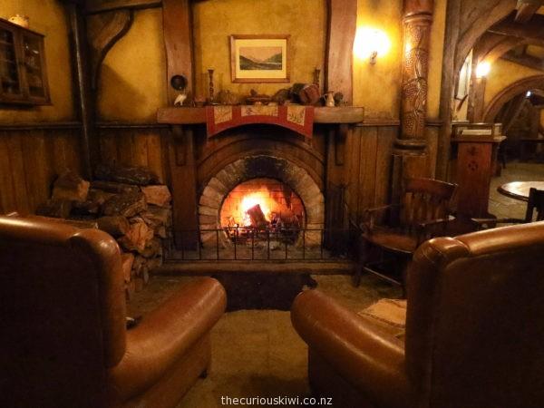The Green Dragon Inn at Hobbiton