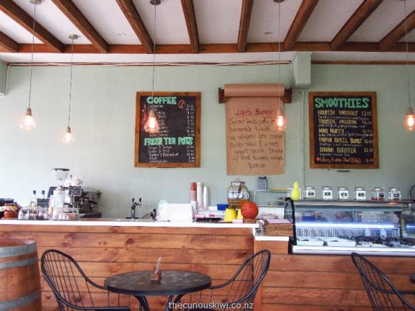 Nourish Cafe in Apia, Samoa