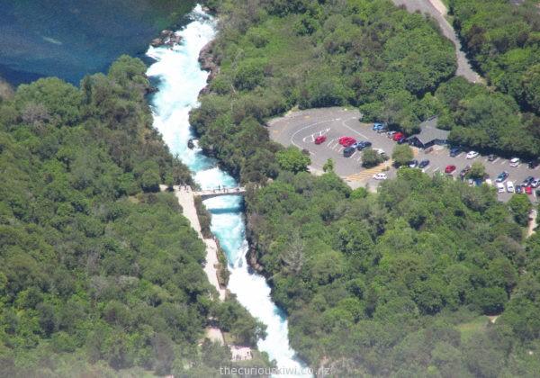 Huka Falls from above