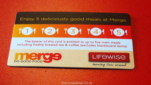 Pay it forward at Merge Cafe