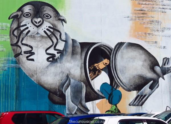 Christchurch Street Art by Tess Sheerin