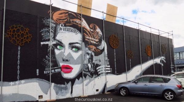 Christchurch Street Art by Joel Hart