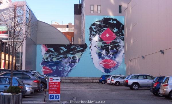 Christchurch Street Art by Askew