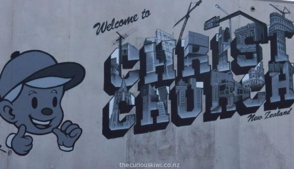 Christchurch Street Art by Dcypher