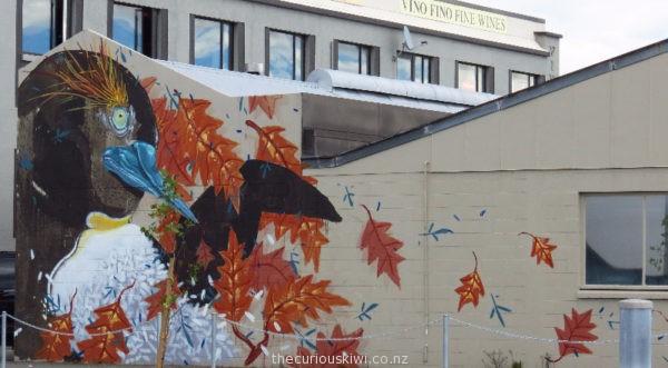 Christchurch Street Art by Hitnes