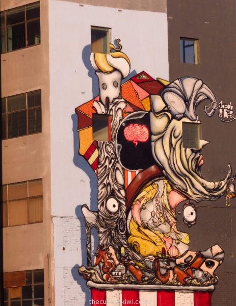 Christchurch Street Art by Jacob Yikes