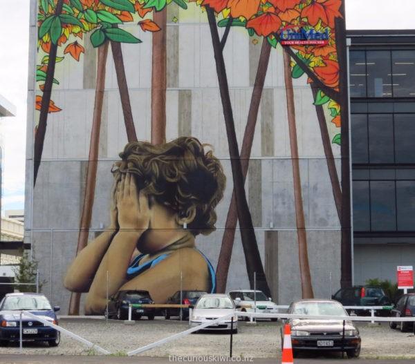 Christchurch Street Art by Wongi Wilson