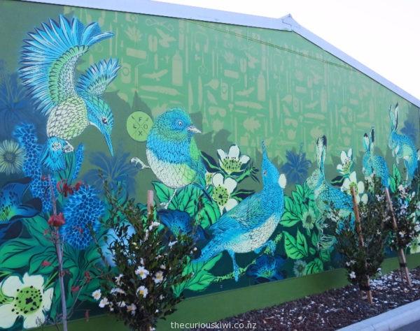 Christchurch Street Art by Flox