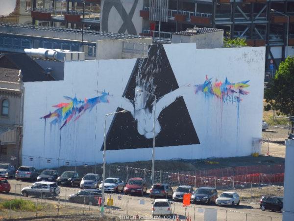 Christchurch Street Art by Vexta