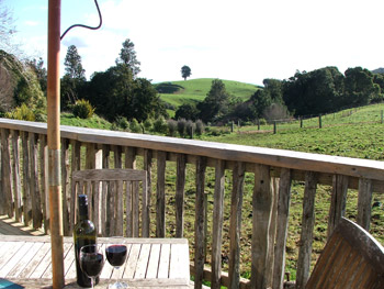 Cassie's Farm Woolshed View