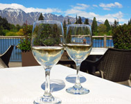 The Remarkables in a glass