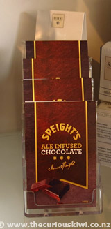 Speights Ale Infused Chocolate