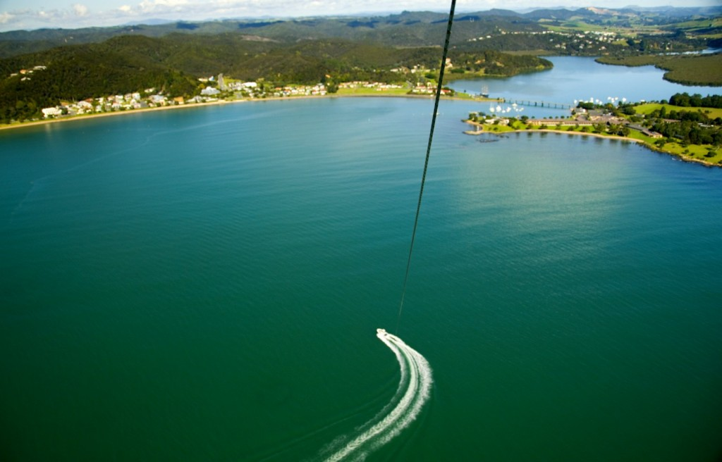 Flying high with Flying Kiwi Parasail