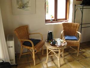 Double room at Sans Souci Inn