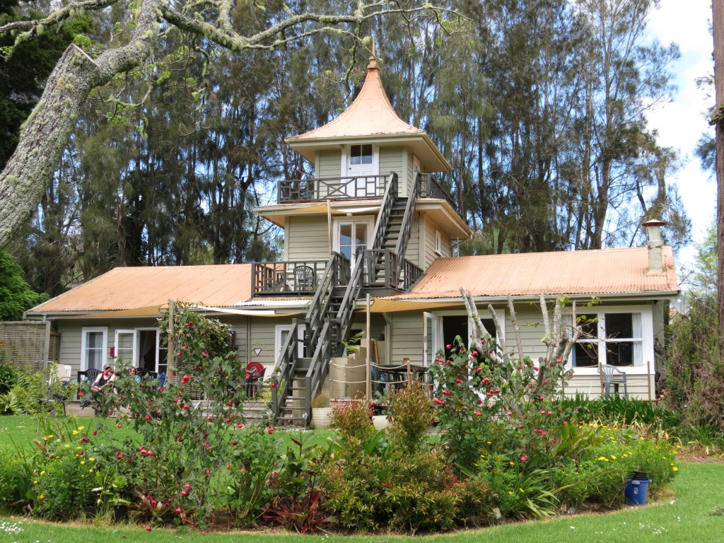 Pagoda Lodge, built in the 1930's