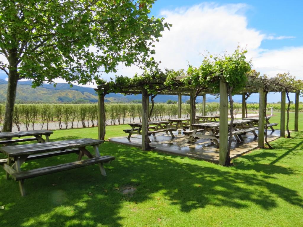 Sit among the vines at Wairau River