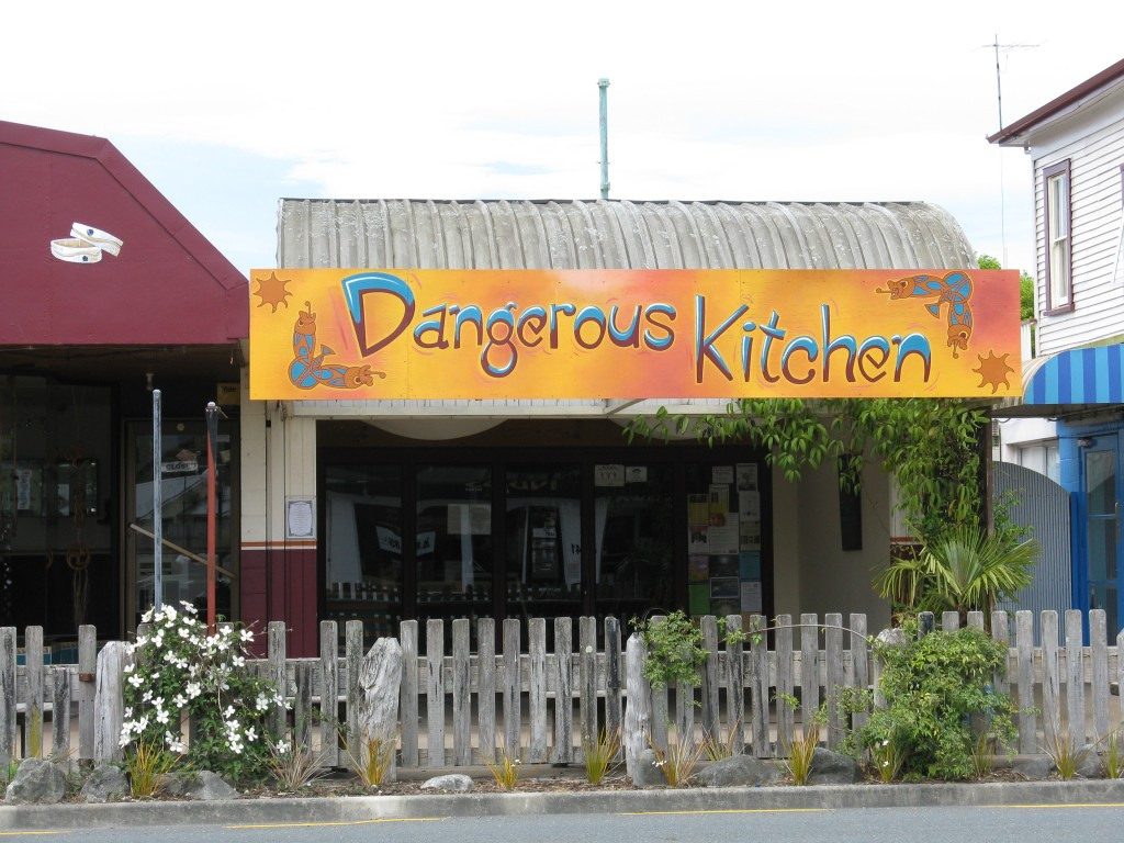 The Dangerous Kitchen in Takaka